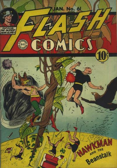 Cover for Flash Comics (DC, 1940 series) #61