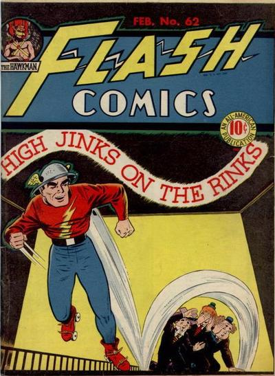 Cover for Flash Comics (DC, 1940 series) #62