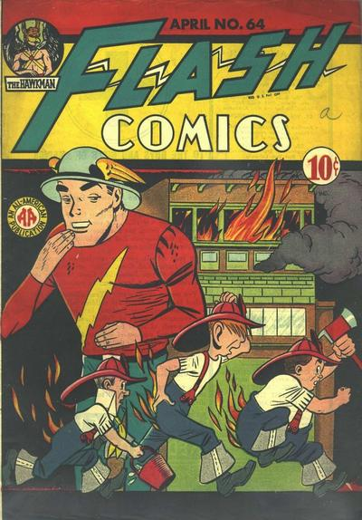 Cover for Flash Comics (DC, 1940 series) #64