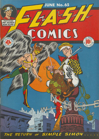 Cover for Flash Comics (DC, 1940 series) #65