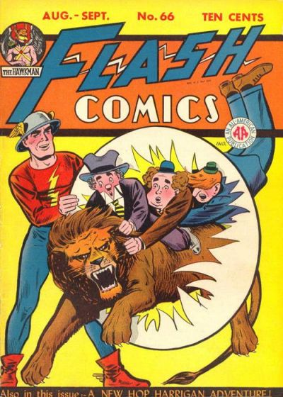 Cover for Flash Comics (DC, 1940 series) #66