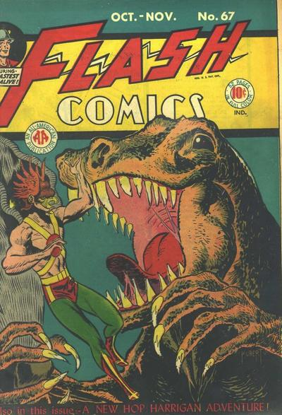 Cover for Flash Comics (DC, 1940 series) #67