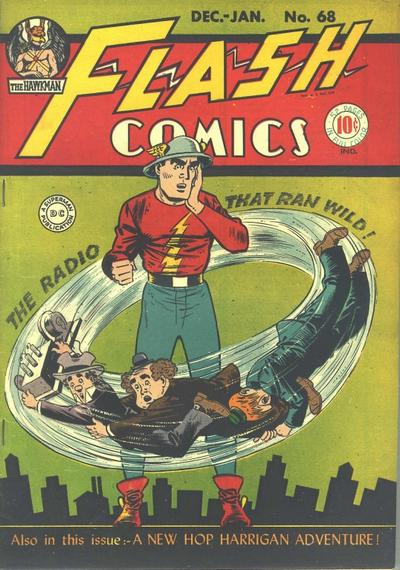 Cover for Flash Comics (DC, 1940 series) #68