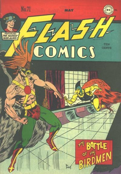Cover for Flash Comics (DC, 1940 series) #71