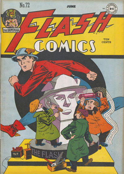 Cover for Flash Comics (DC, 1940 series) #72