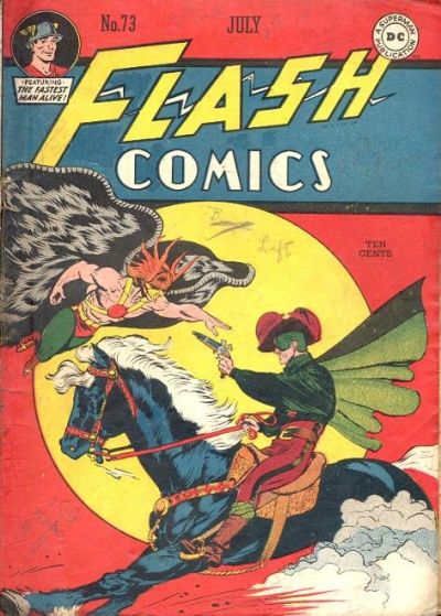 Cover for Flash Comics (DC, 1940 series) #73