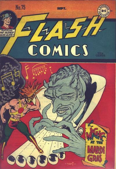 Cover for Flash Comics (DC, 1940 series) #75