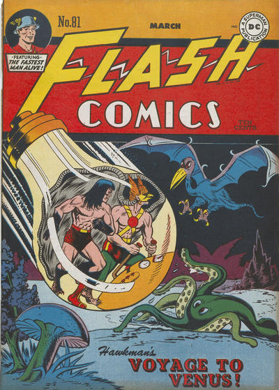 Cover for Flash Comics (DC, 1940 series) #81