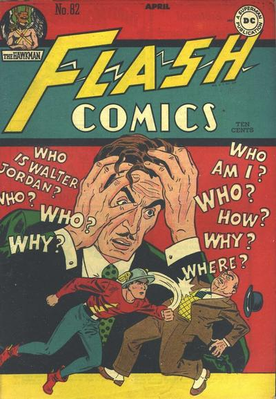 Cover for Flash Comics (DC, 1940 series) #82