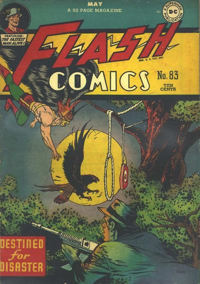 Cover for Flash Comics (DC, 1940 series) #83