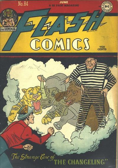 Cover for Flash Comics (DC, 1940 series) #84