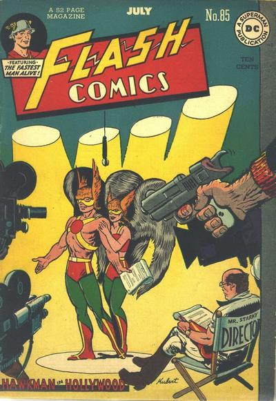 Cover for Flash Comics (DC, 1940 series) #85