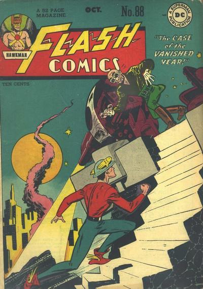 Cover for Flash Comics (DC, 1940 series) #88