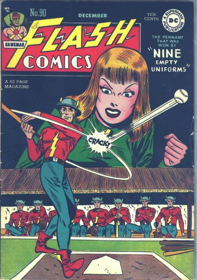 Cover for Flash Comics (DC, 1940 series) #90