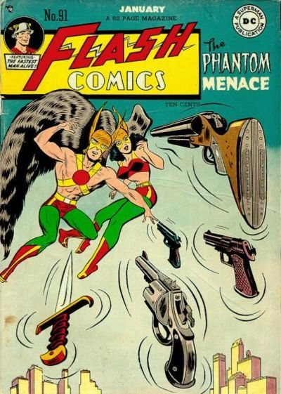 Cover for Flash Comics (DC, 1940 series) #91
