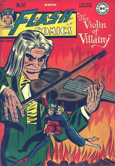 Cover for Flash Comics (DC, 1940 series) #93