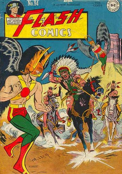 Cover for Flash Comics (DC, 1940 series) #94