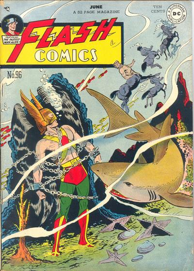 Cover for Flash Comics (DC, 1940 series) #96