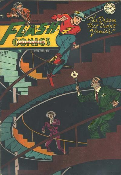 Cover for Flash Comics (DC, 1940 series) #97