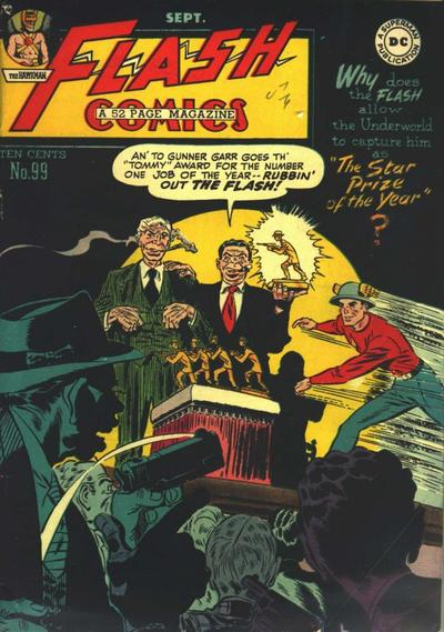 Cover for Flash Comics (DC, 1940 series) #99