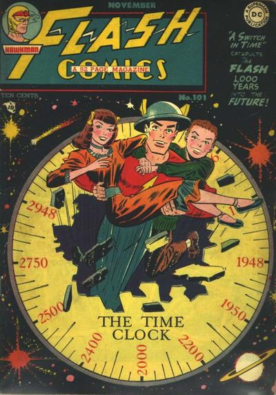 Cover for Flash Comics (DC, 1940 series) #101