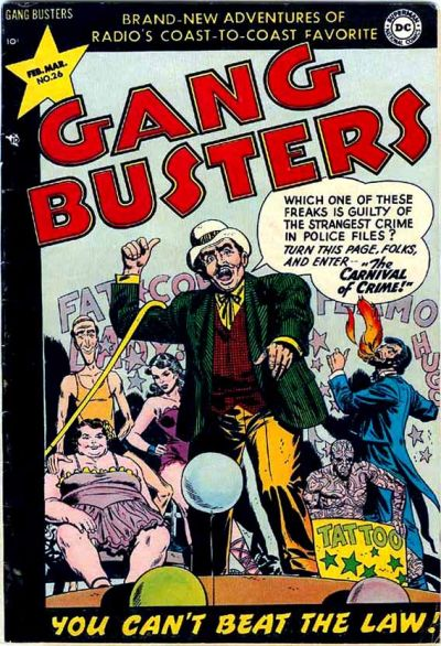 Cover for Gang Busters (DC, 1947 series) #26