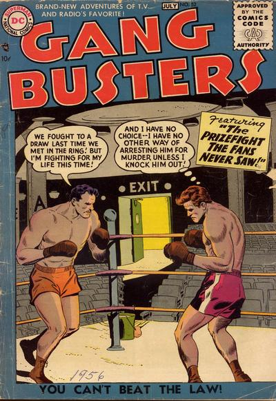 Cover for Gang Busters (DC, 1947 series) #52