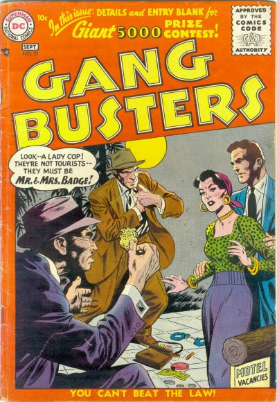 Cover for Gang Busters (DC, 1947 series) #53