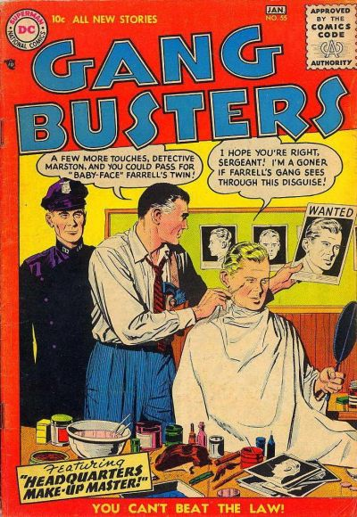 Cover for Gang Busters (DC, 1947 series) #55
