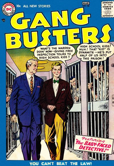 Cover for Gang Busters (DC, 1947 series) #56