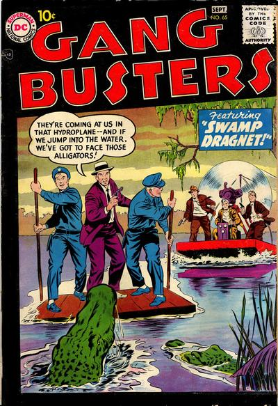 Cover for Gang Busters (DC, 1947 series) #65