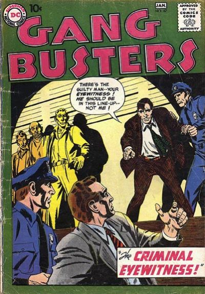 Cover for Gang Busters (DC, 1947 series) #67