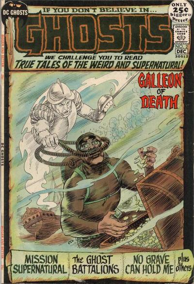 Cover for Ghosts (DC, 1971 series) #2
