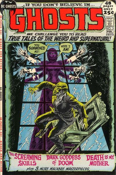 Cover for Ghosts (DC, 1971 series) #3