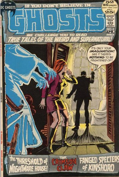 Cover for Ghosts (DC, 1971 series) #4