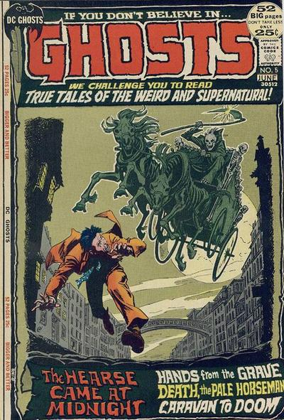 Cover for Ghosts (DC, 1971 series) #5