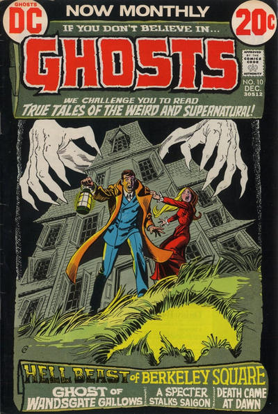 Cover for Ghosts (DC, 1971 series) #10