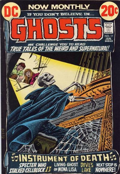 Cover for Ghosts (DC, 1971 series) #11