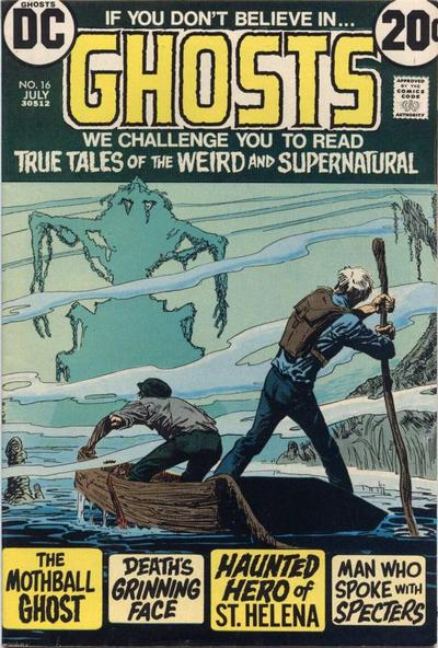 Cover for Ghosts (DC, 1971 series) #16