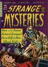 Cover for Strange Mysteries (Superior Publishers Limited, 1951 series) #16
