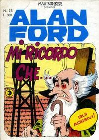 Cover Thumbnail for Alan Ford (Editoriale Corno, 1969 series) #76