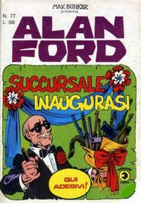 Cover Thumbnail for Alan Ford (Editoriale Corno, 1969 series) #77