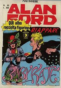 Cover for Alan Ford (Editoriale Corno, 1969 series) #93