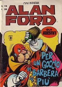 Cover Thumbnail for Alan Ford (Editoriale Corno, 1969 series) #118