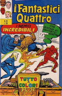 Cover Thumbnail for I Fantastici Quattro (Editoriale Corno, 1971 series) #29
