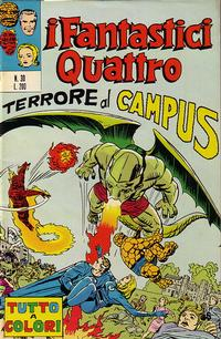 Cover Thumbnail for I Fantastici Quattro (Editoriale Corno, 1971 series) #30