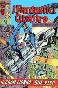 Cover Thumbnail for I Fantastici Quattro (Editoriale Corno, 1971 series) #39