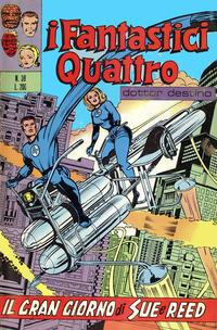 Cover Thumbnail for I Fantastici Quattro (Editoriale Corno, 1971 series) #39