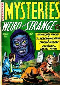 Cover Thumbnail for Mysteries (Superior Publishers Limited, 1953 series) #2