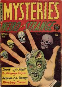 Cover Thumbnail for Mysteries (Superior Publishers Limited, 1953 series) #3